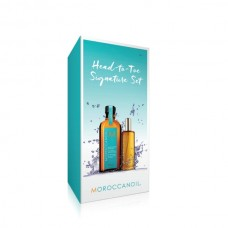 Moroccanoil Head To Toe Signature Light Set (Light Treatment Oil 100ml,Body Oil 50ml)