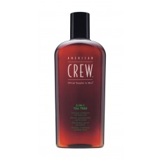 American Crew 3-In-1 Tea Tree Shampoo Conditioner & Body Wash 450ml