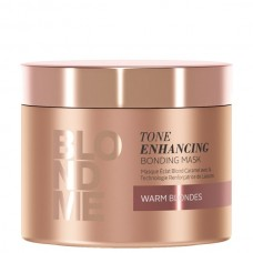Schwarzkopf Professional BLONDME Tone Enhancing Bonding Mask - Ζεστά Ξανθά (200ml)